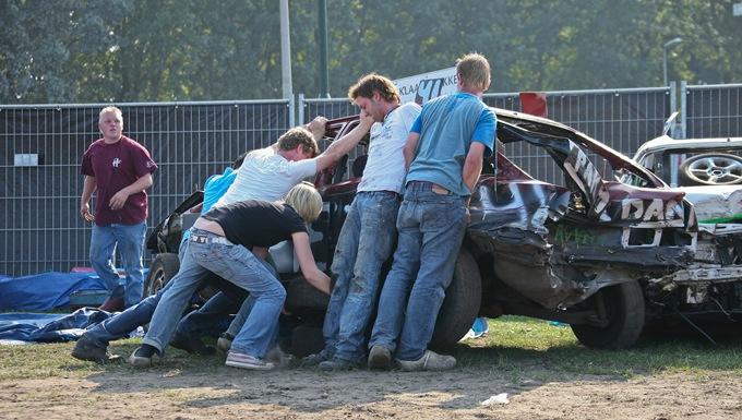 2009-09-19 Autorodeo Staphorst 28
