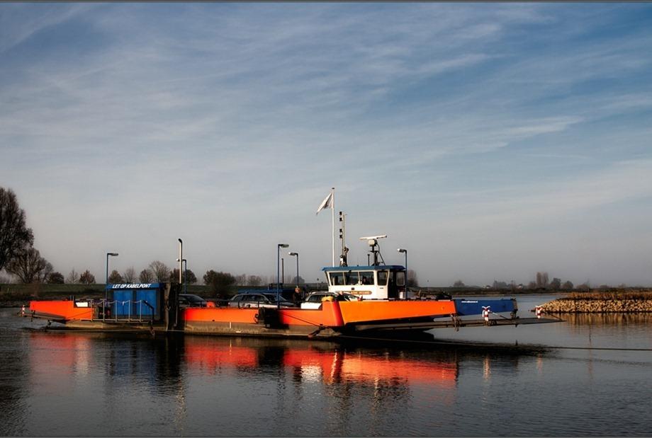 Veerpont Wijhe  Heerde IJssel 01