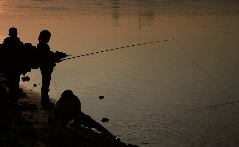Vissen aan de IJssel 02