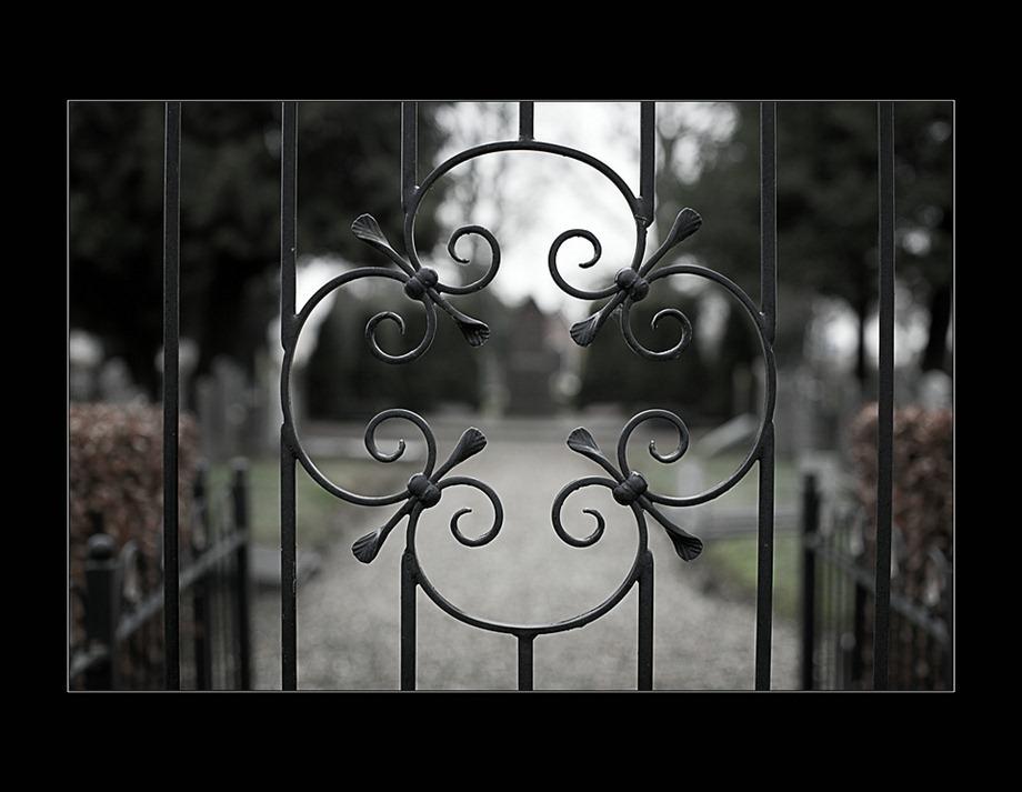 Begraafplaats Zwartsluis toegangshek