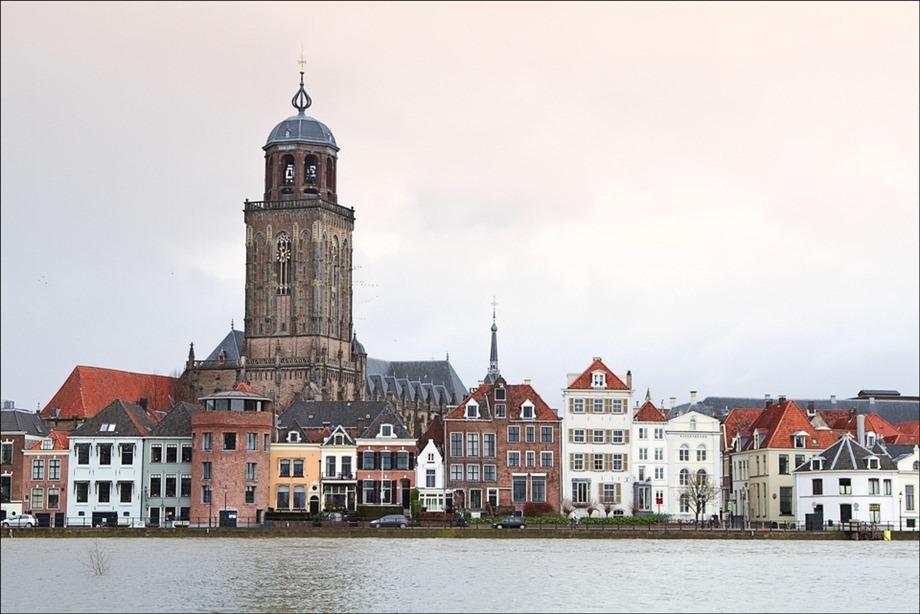 Deventer IJssel Hoogwater 01