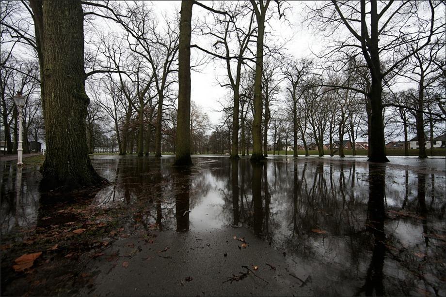 Deventer Worpplantsoen Hoogwater IJssel 01
