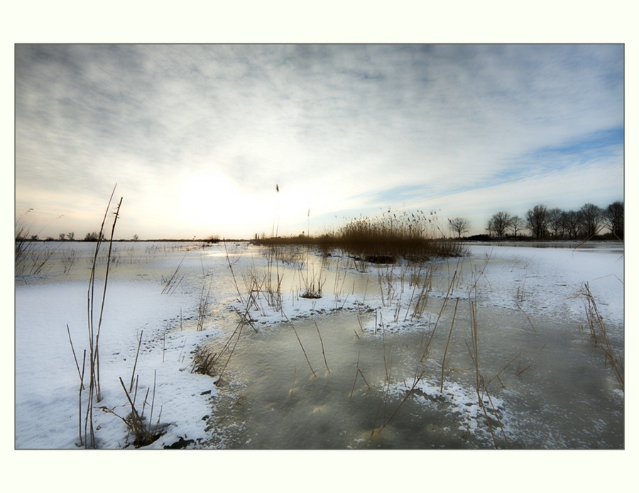 Zwartsluis,  Hasselterdijk, Zwartewater, Winter 01