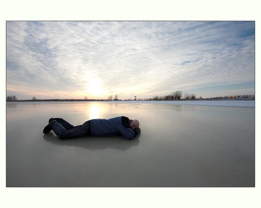Zwartsluis, Hasselterdijk, Zwartewater, Winter, landschapsfotografie, Groothoek 01