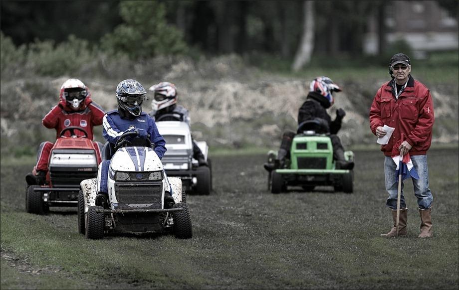 Gazonmaaierrace Koekange 2012