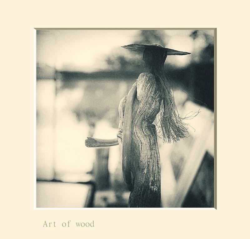Artistiek hout