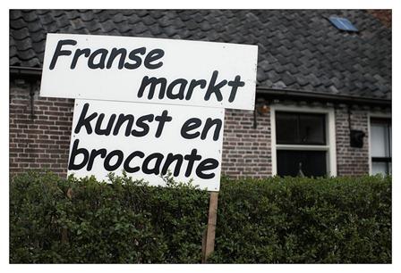 Franse Markt Kunst en Brocante