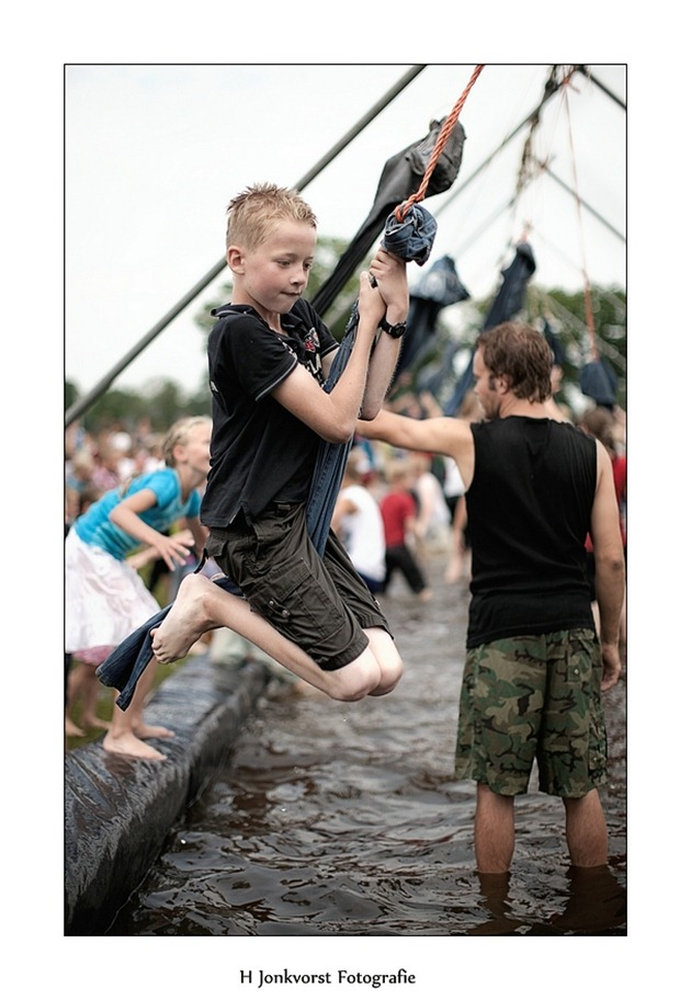 Huttendorp Staphorst 2012 Waterspektakel