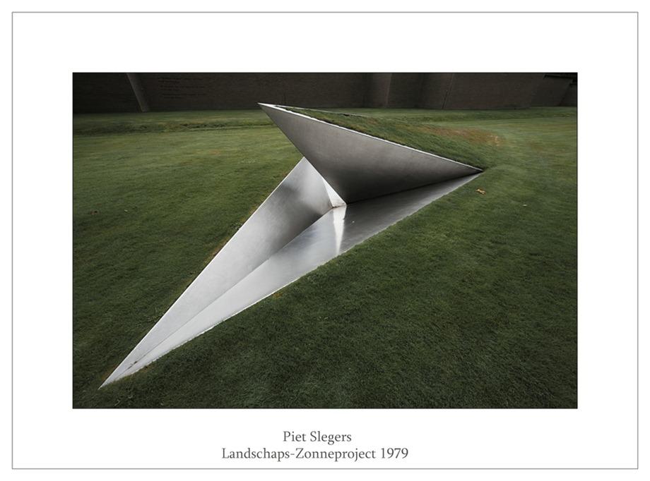 Kröller-Müller Beeldentuin Piet Slegers Landschaps-Zonneproject