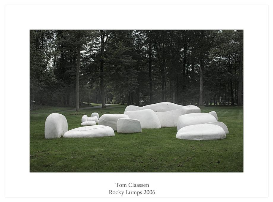 Kröller-Müller Beeldentuin Tom Claassen Rocky Lumps