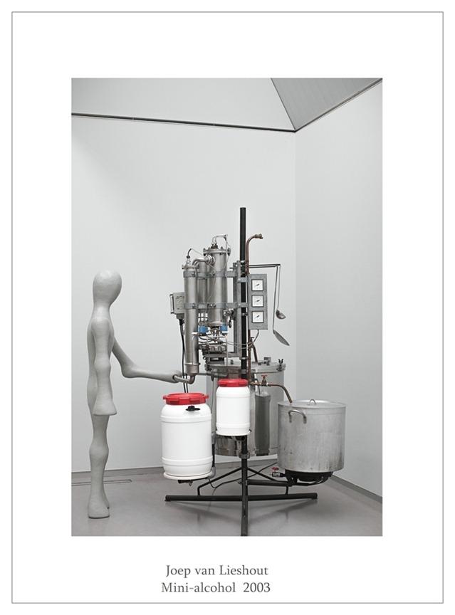 Kröller-Müller Joep van Lieshout Mini alcohol