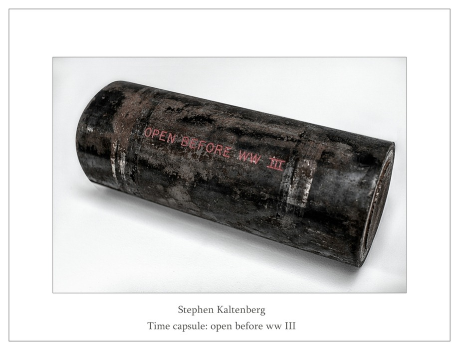Kröller-Müller Stephen Kaltenberg Time Capsule open before ww III