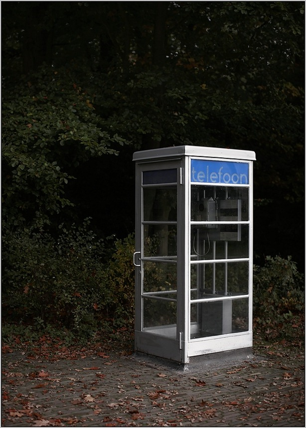 Openluchtmuseum Arnhem  Telefooncel