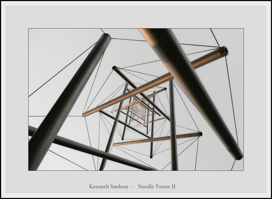 Kenneth Snelson Needle Tower  Tensegrity