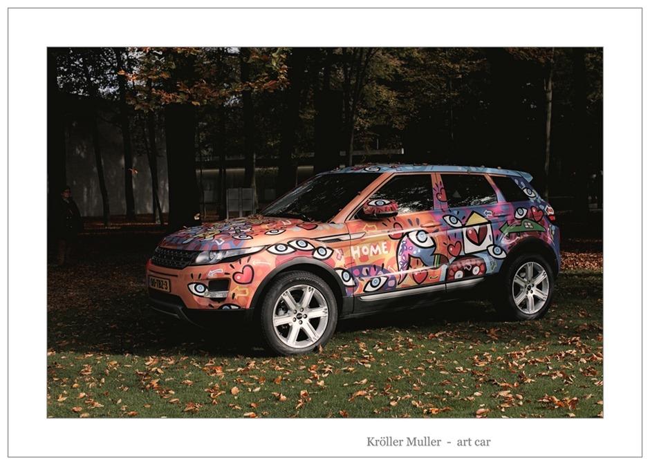 Kröller Müller Art Car