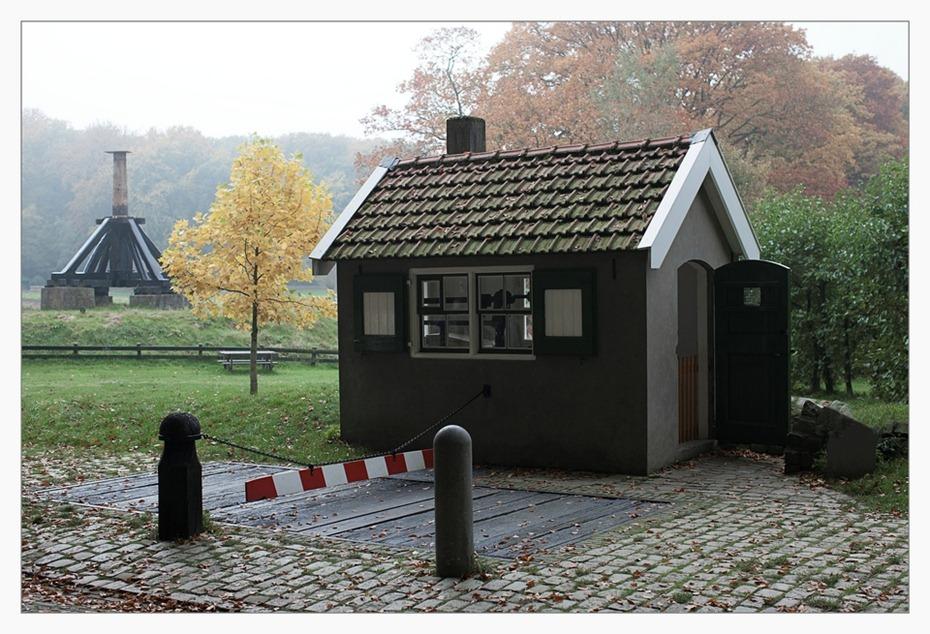 Openluchtmuseum Arnhem  Weeghuisje met Weegbrug