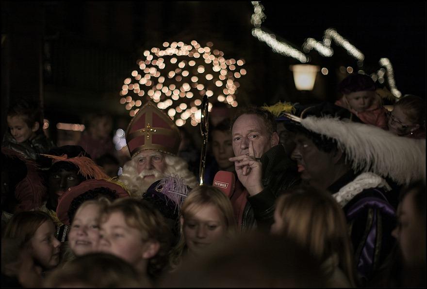 Piet Paulusma SBS6 Sinterklaasfeest Ponypark Slagharen