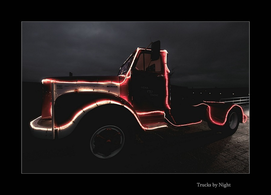 Staphorst Trucks by Night