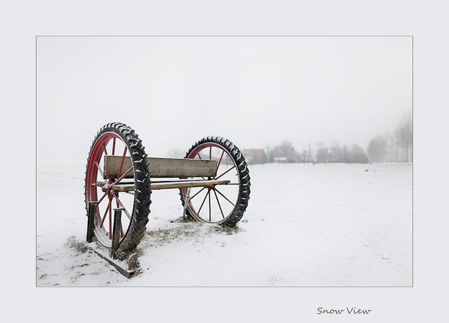 Sneeuwdecor