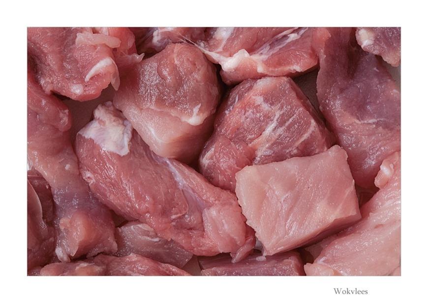 Wokvlees Varkensvlees