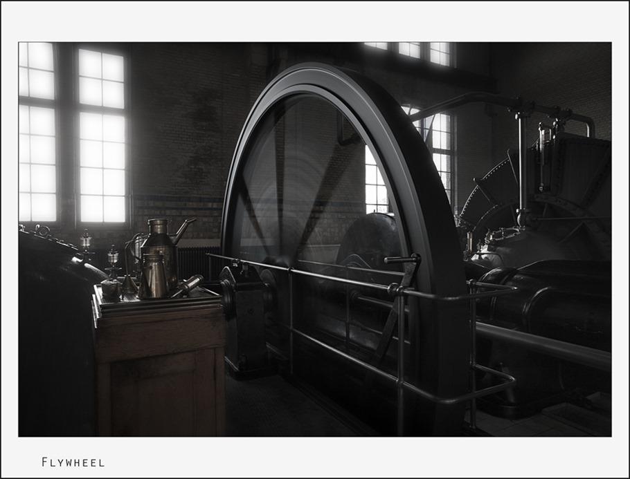 Woudagemaal Machinekamer 03