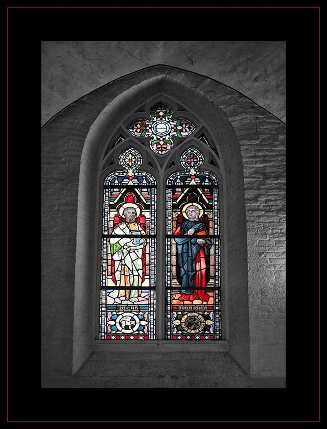 Bergkerk Deventer Sint-Nicolaaskerk Gebrandschilderd Glas
