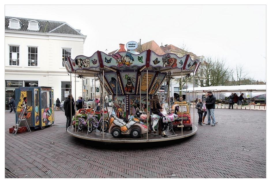 Deventer Centrum Markt Draaimolen