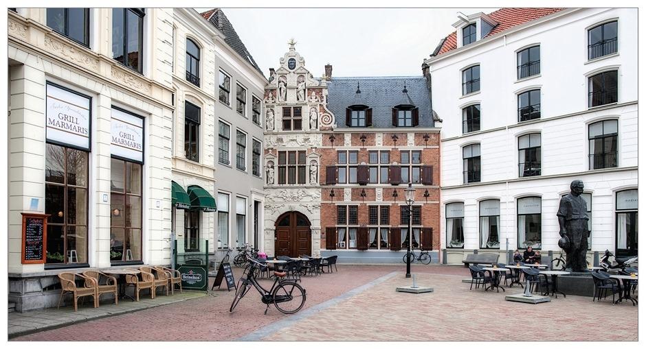 Deventer  De Brink Het Penninckshuis Albert Schweitzer