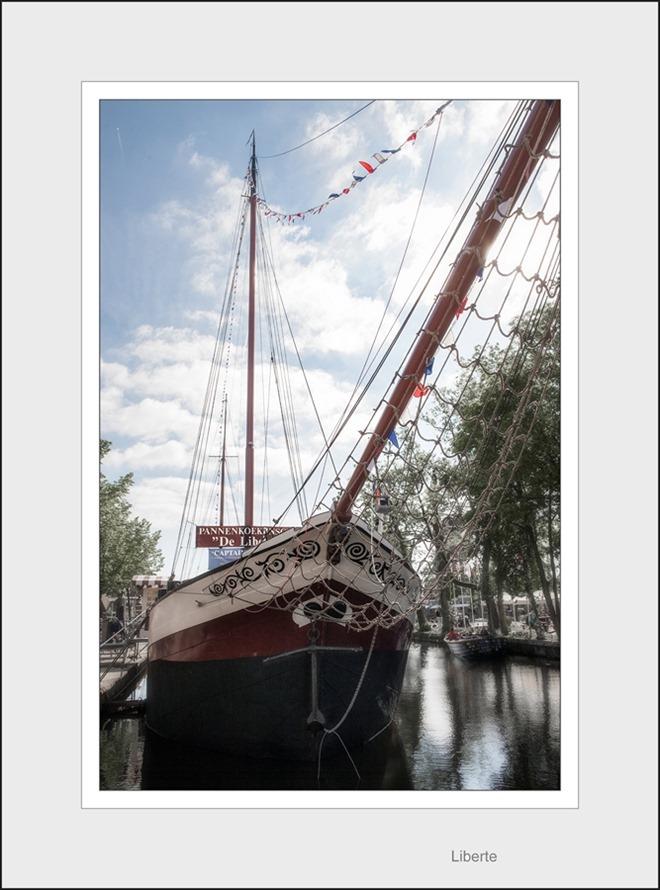 Pannenkoekschip De Liberte Meppel