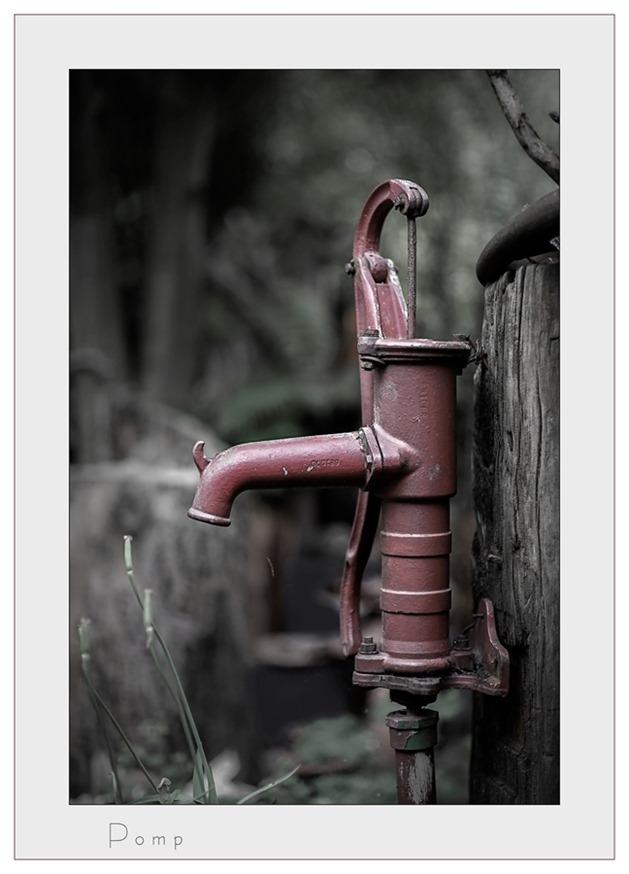 Zwengelpomp Waterpomp