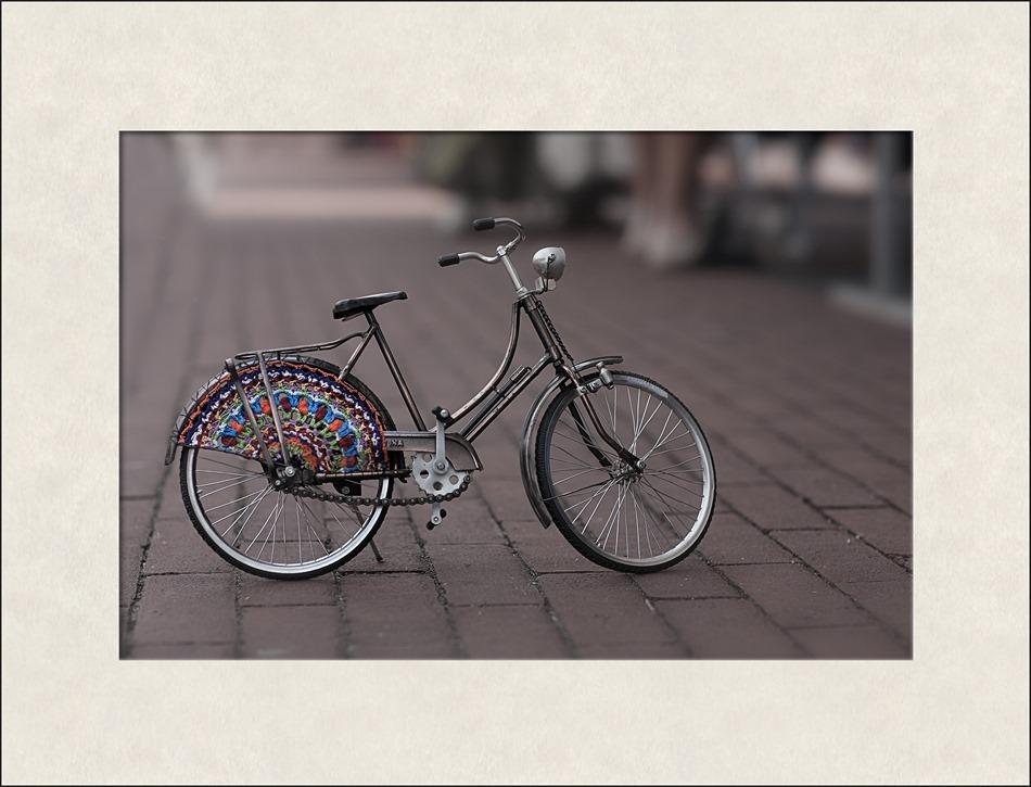Staphorst  Staphorster fiets miniatuur