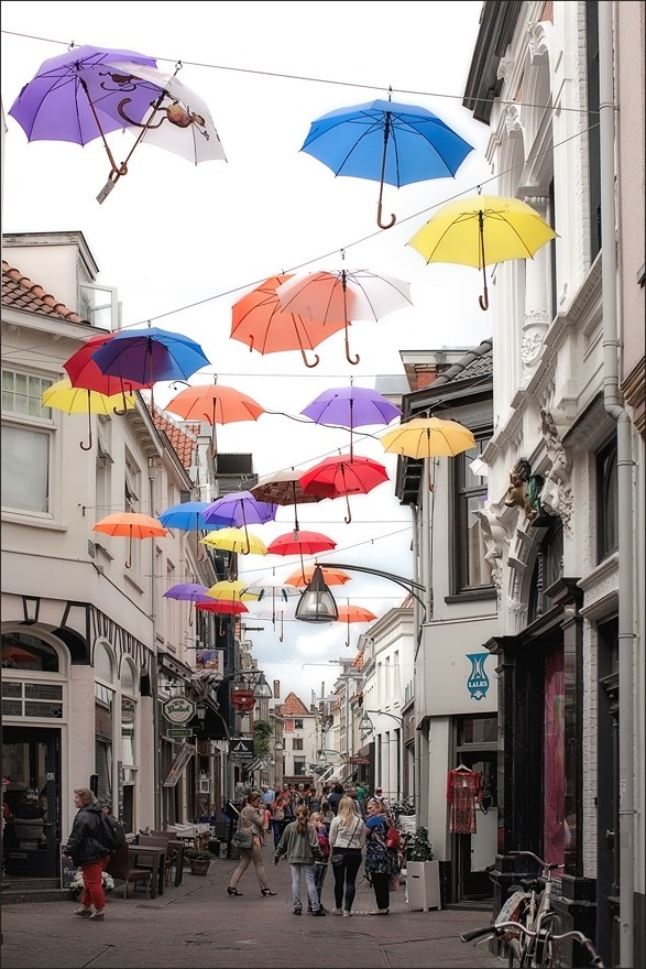 Deventer Umbrella Street