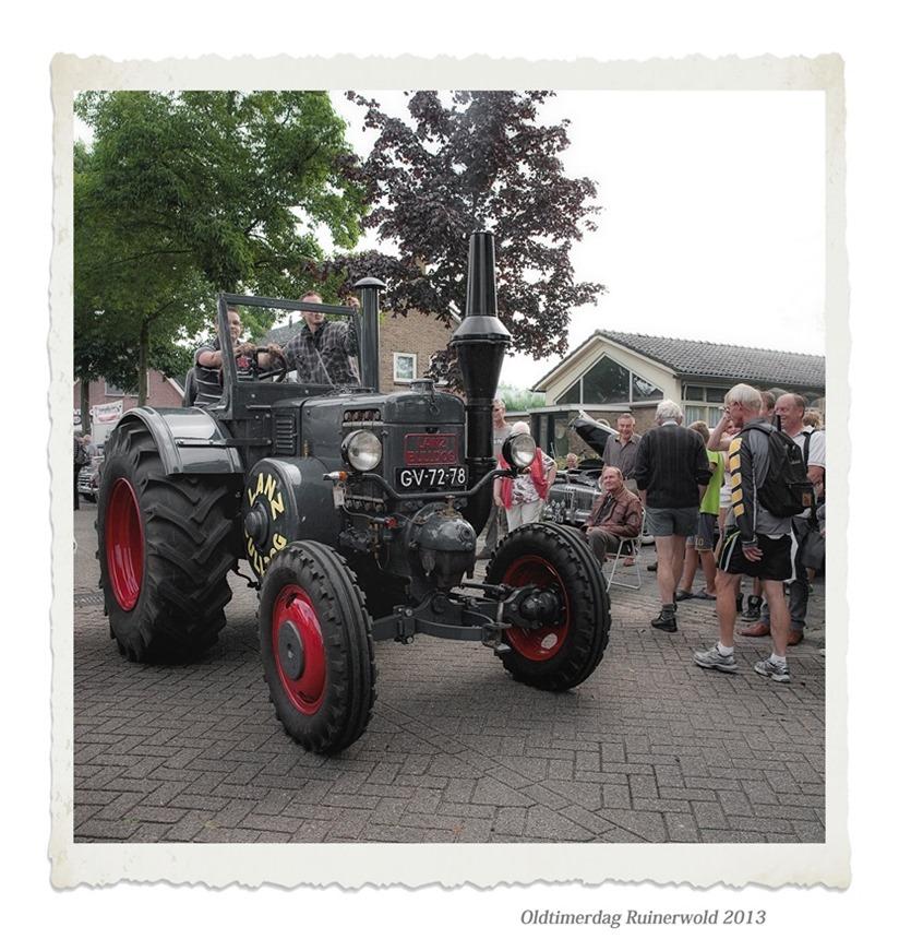 Oldtimerdag Ruinerwold 2013