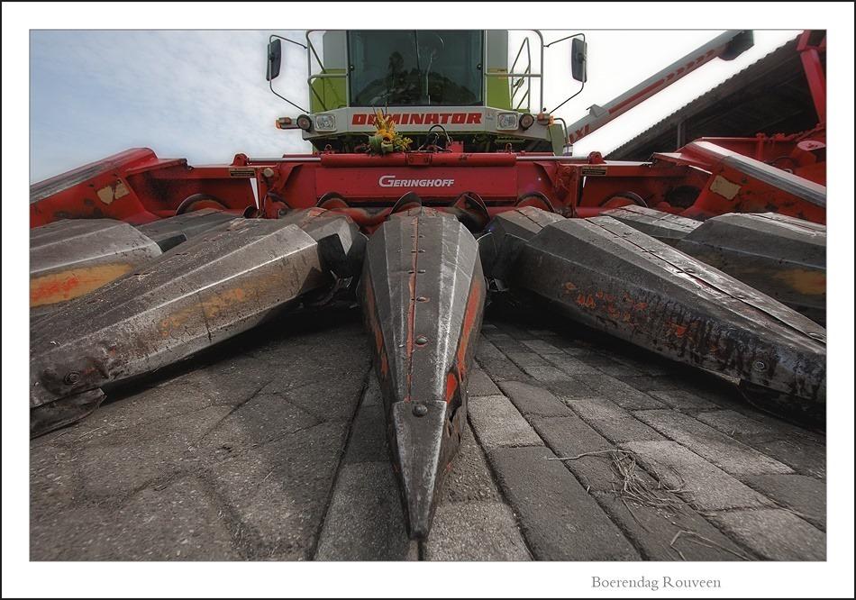 Maishakselaar Landbouwmachine