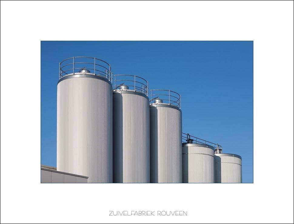 Staphorst Zuivelfabriek Rouveen opslagtanks