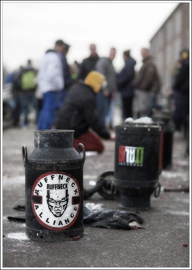 Carbid Schieten Kampen Foto