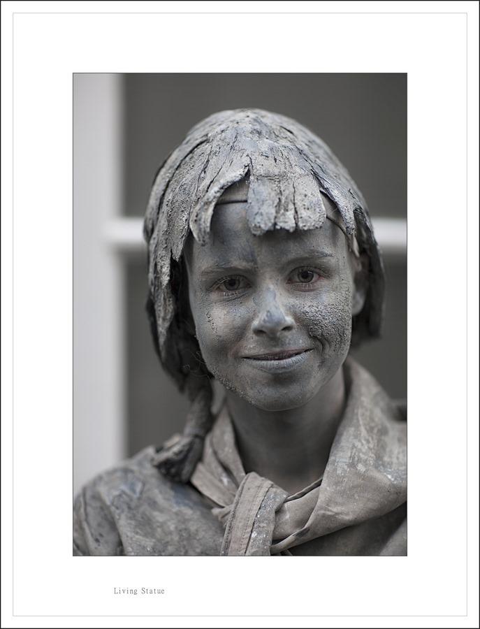 Levende Beelden  Living statue Foto