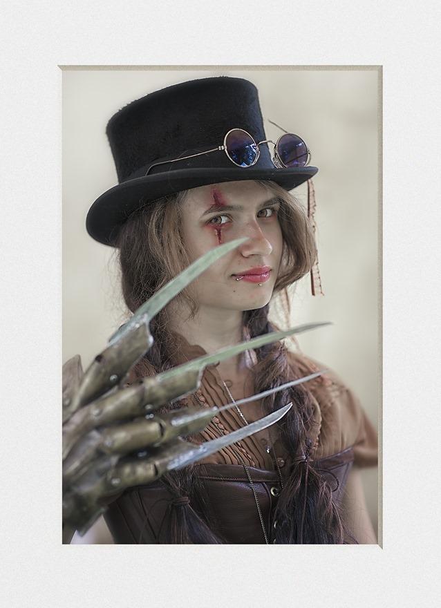 Steampunk Handschoen