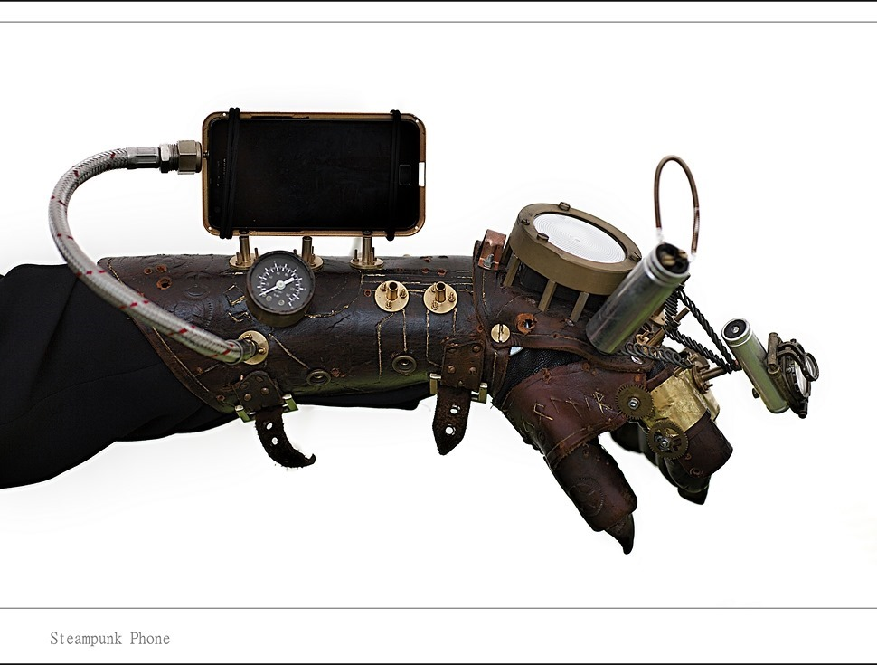 Steampunk Telefoon Steampunk Telephone