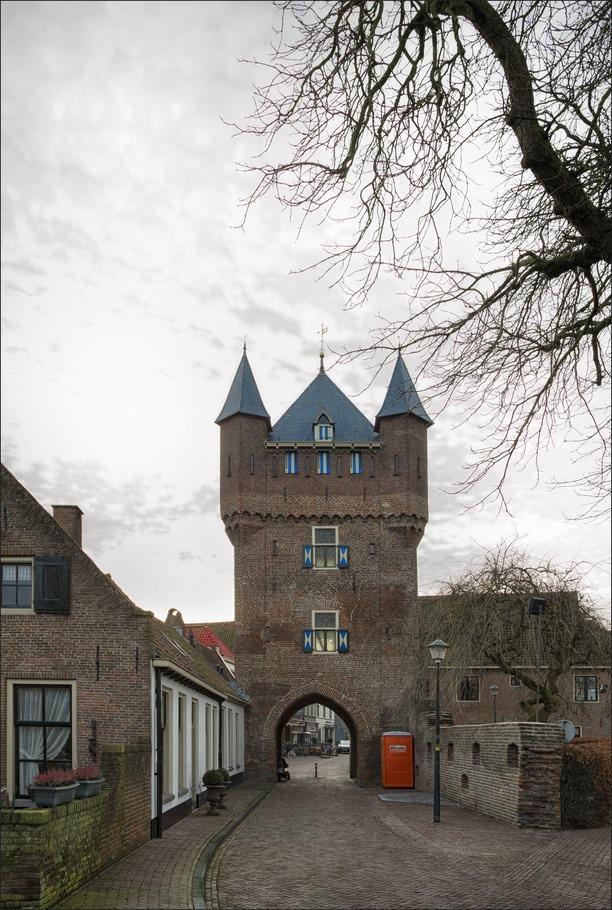 Stadspoort Foto Dijkpoort Hattem