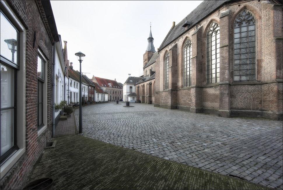 Hattem Kerkplein Foto Historische Binnenstad