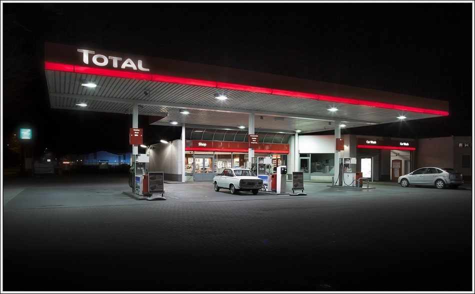 Staphorst Foto Tankstation Total 01
