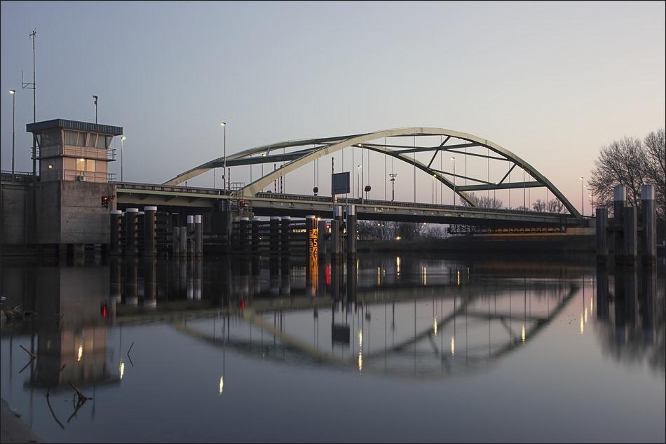 Hasselt Zwartewaterbrug Foto Boogbrug Basculebrug