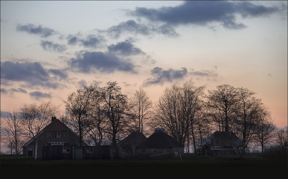 Staphorst Olde Maten Foto Zonsondergang 03