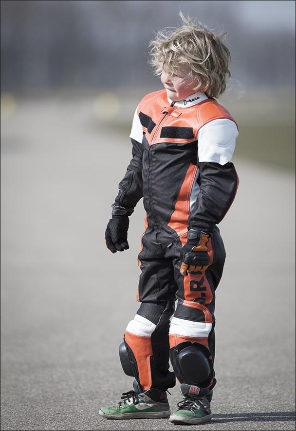 Vuurdoop Foto Minibike Training
