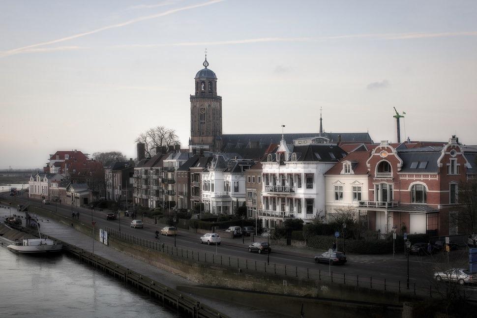 Deventer Skyline Foto Deventer