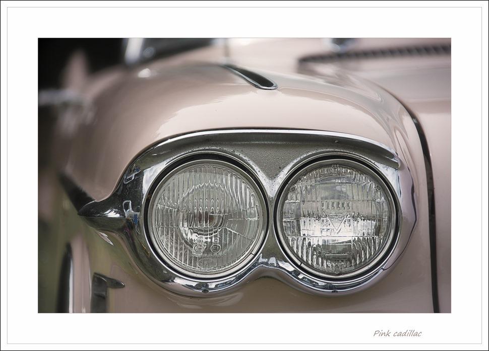 Roze Cadillac Foto Cadillac