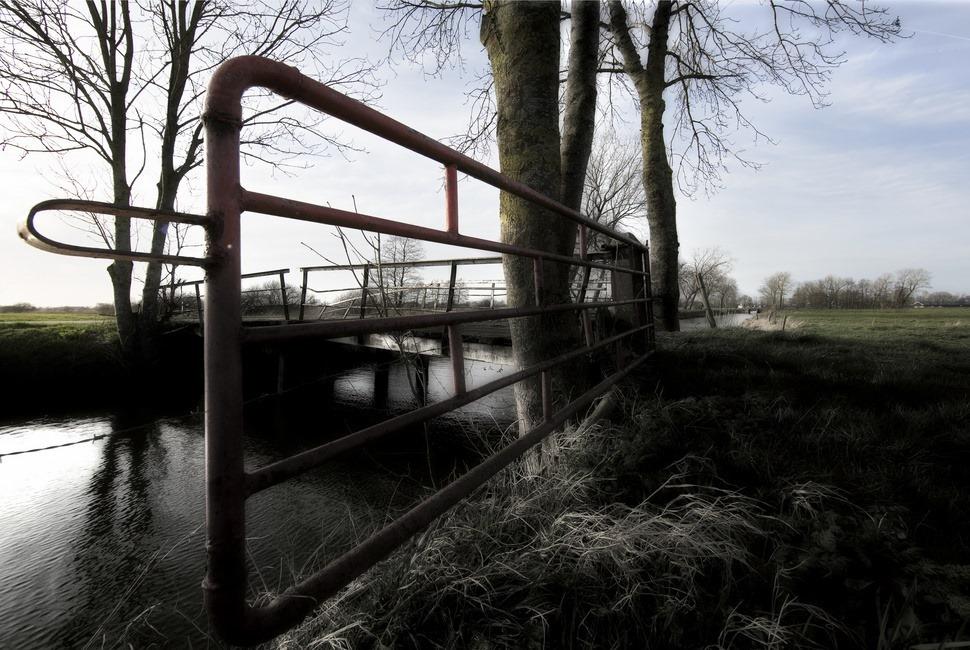 Staphorst Rechterensweg foto Hek