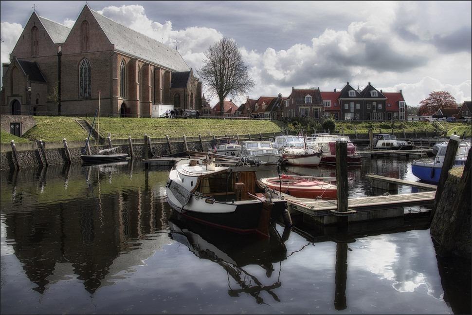 Vollenhove Haven Foto Vollenhove Binnenhaven