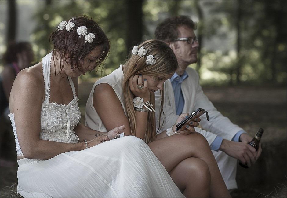 Huwelijkssleur Foto Sleur van het huwelijk